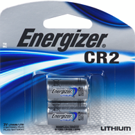 CR2 Lithium Photo Batteries, 2-Pack