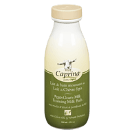 Fresh Goat Milk Foaming Milk Bath, Olive Oil & Wheat Protein