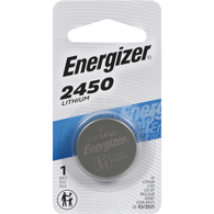 2450 Lithium Coin Battery, 1-Pack