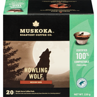 Howling Wolf Single Serve Coffee Pods