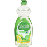 Natural Dish Soap Liquid, Citrus & Ginger