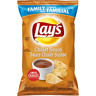 Potato Chips, Chalet Sauce