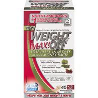 WeightOFF Max! Extra Strength Weight Loss 45+15 Rapid-Release Capsules