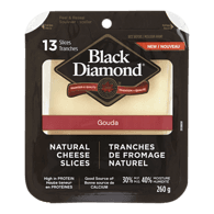 Natural Cheese Slices, Gouda