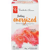 Feeling Energized Siberian Ginseng And Ginger Root Herbal Tea