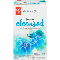 Feeling Cleansed Milk Thistle And Dandelion Root Herbal Tea