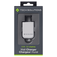 2A Wall Charger, White