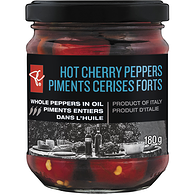 Hot Cherry Peppers Whole Peppers In Oil