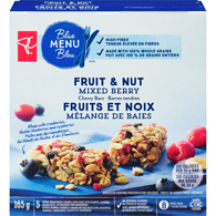 Blue Menu Fruit & Nut Mixed Berry Chewy Bars