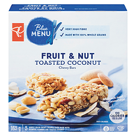 Blue Menu Chewy Bars, Fruit & Nut, Toasted Coconut