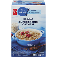 Blue Menu Regular Supergrains Oatmeal 8 Packets