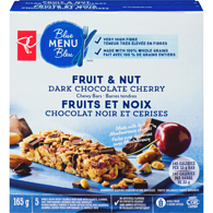 Blue Menu Fruit & Nut Dark Chocolate Cherry Chewy Bars