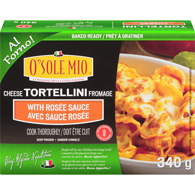 Cheese Tortellini with Rosée Sauce