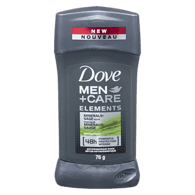 Men + Care Elements Deodorant Stick, Minerals & Sage