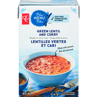 Green Lentil And Curry Ready-To-Serve Soup