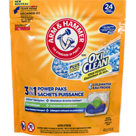 Oxi Clean 3 in 1 Power Paks Coldwater Concentrated Laundry Detergent 24 Paks