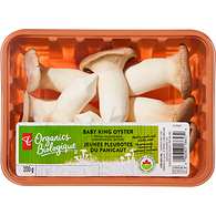 Baby King Oyster Whole Mushrooms