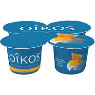 Zesty Mandarin Orange 2% M.F. Greek yogurt,4x100g