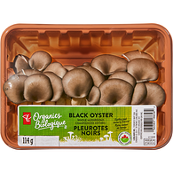 Black Oyster Whole Mushrooms