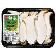 King Oyster Mushrooms, Sliced