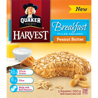 Harvest Granola Bars, Breakfast - Peanut Butter