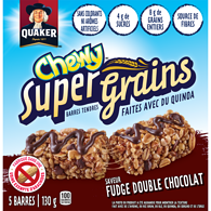 Chewy Granola Bars, Super Grains - Double Chocolate Fudge