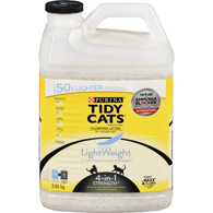 LightWeight 4-in-1 Strength™ Clumping Cat Litter for Multiple Cats