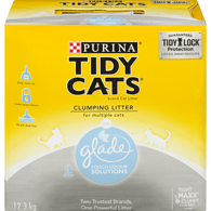 with Glade Clear Springs Clumping Cat Litter
