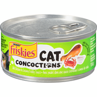 Cat Concoctions with Chicken in Creamy Crabby Sauce Cat Food