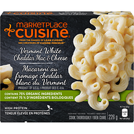 Vermont White Cheddar Mac & Cheese