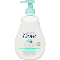 Baby Tip to Toe Wash, Sensitive Moisture Cleansing Liquid