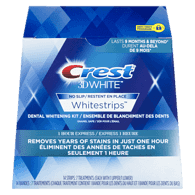 3D White Whitestrips 1 Hour Express
