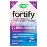Primadophilus Fortify Women's Probiotic 30 Billion 30 Capsules