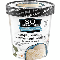 Cashew Ice Cream, Simply Vanilla