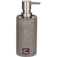 Soap Dispenser, Grey Wood
