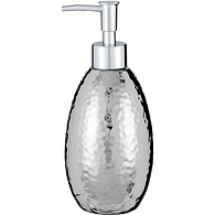 Soap Dispenser, Hammered Metal
