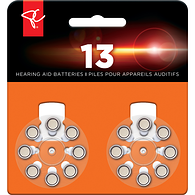 Hearing Aid Batteries, Size 13