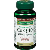Co Q-10 200 mg Q-Sorb Value Size 60 Liquid Softgels