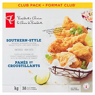Southern-Style Breaded Chicken Breast Fillets, Club Pack