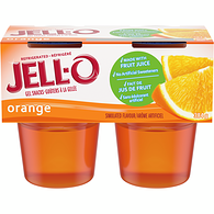 Orange Gel Snacks