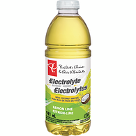 Lemon Lime Electrolyte Beverage With Coconut Water