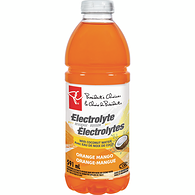 Orange Mango Electrolyte Beverage With Coconut Water