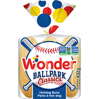 Ballpark Hotdog Rolls, 6 Pack