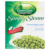 Simply Steam Summer Sweet Peas with Butter Sauce