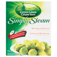 Simply Steam Brussels Sprouts with Butter Sauce