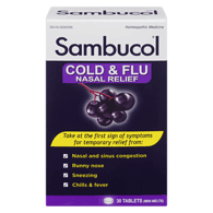 Cold & Flu Nasal Relief Homeopathic Medicine