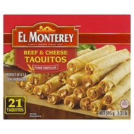 EL MONT. TAQUITOS BOEUF FROMG