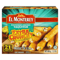 Southwest Chicken Taquitos