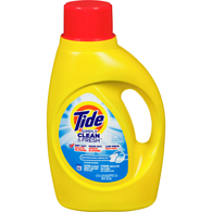 High Efficiency Liquid Detergent Simply Clean & Fresh, Refreshing Breeze