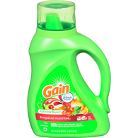Gain Liquid Laundry Detergent with Febreze Freshness, Tropical Sunrise, 32 Loads